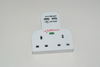 Surge Protector Socket Universal 6 Outlet Power Strip With USB Ports