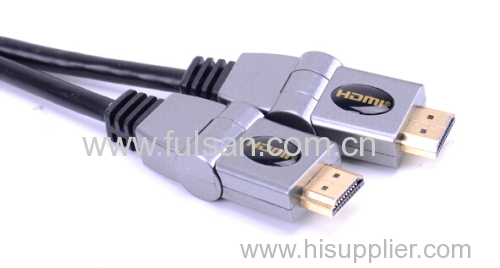 2.0Versions 1M Blue Super Soft Hdmi Cable For Computer