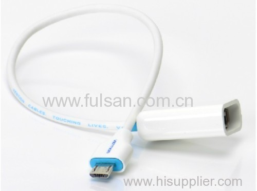 USB Host OTG Cable Micro USB to USB2.0 Female