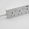 3 Gang Surge Protection Overload Protection Power Extension UK Socket