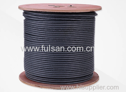 CE certificate Cat5e UTP Cable with Wooden Drum 305M 1000FT