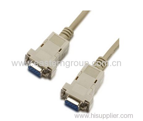 DB9 female to female cable RS232 serial cable