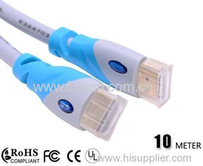 10M/30ft HDMI Cable 1.4 HIGH SPEED with Ethernet