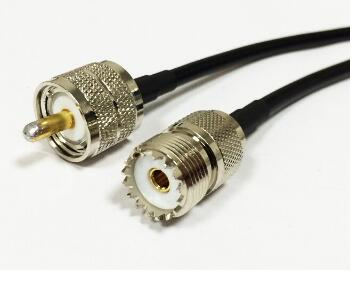 Male Female Jack Plug Connector antenna RG58 coaxial cable