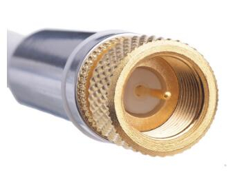 White male to male bnc tv satellite coaxial cable rg6 rg11 rg59 rg58