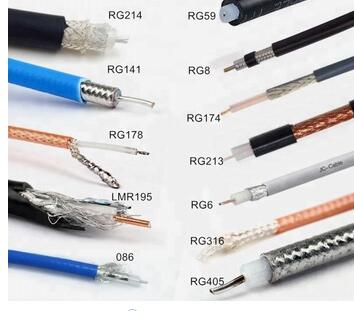 Factory Price High Quality RG6 RG11 RG59 RG58 Coaxial Cable For TV/CATV/Satellite/Antenna/CCTV