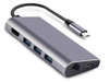 Aluminum USB-C USB 3.0 hub 7 Ports Hub Driver Type C 4K Type-C Hub for MacBook
