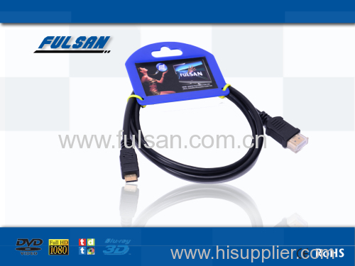 version 1.4 High Speed A to C hdmi cable
