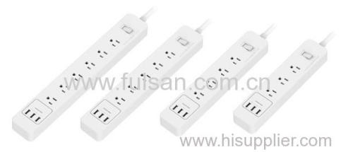 3 Outlet Surge Protector Power Strip with 3 USB Charging Ports