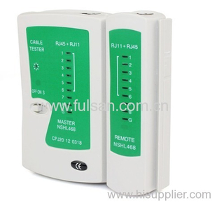 New RJ45 RJ11 Cat5 Network LAN Cable Tester