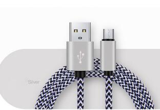 2018 Braided Nylon Aluminum Fast Speed 1Meter Usb Type C Cable , High Quality Micro Usb Cable