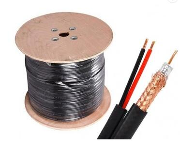 High quality fiber optic rg59 rg6 cctv electric coaxial cable for cctv system