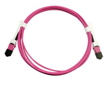 MPO/MTP Male/Female Multimode OM4 Fiber Patch Cord Cable MPO Fiber Optic Cable
