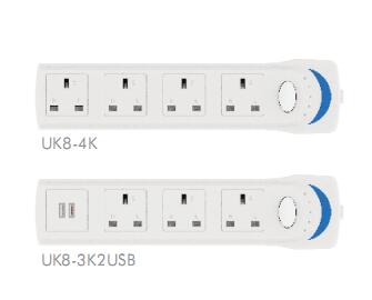 Factory BS approval uk plug extension socket uk sockets 13 amp switched