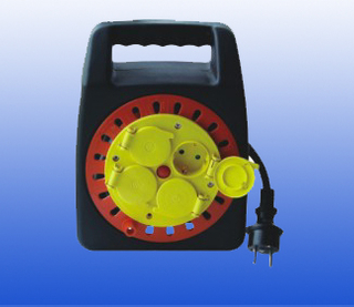 small retractable cable reel