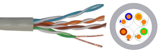 24AWG UTP cat5e Lan Cable