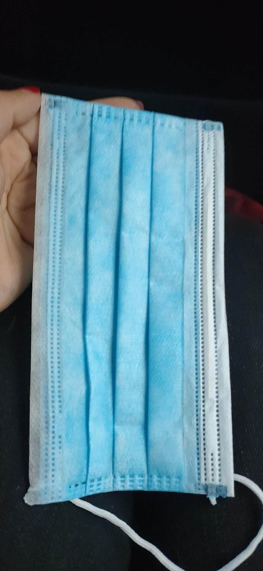Disposable Mask with storage