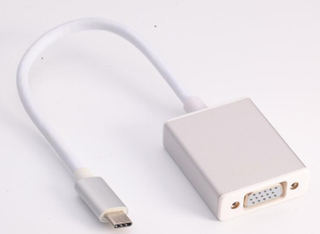 USB-C TO VGA Cable Adapter TYPE C TO VGA