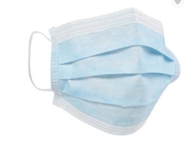 In Stock Fast Shipping Disposable Face Mask 3-ply Face Mask Disposable with tie-on BFE99%