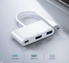 3 in 1 USB hub 3.0 Type C to HDMI multiport adapter converter with PD charging