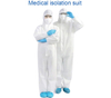 Disposable Protective Coverall Suit Anti-Dust Isolation Clothing Coverall Uniforms Ventilation Against Infection Isolation Suit