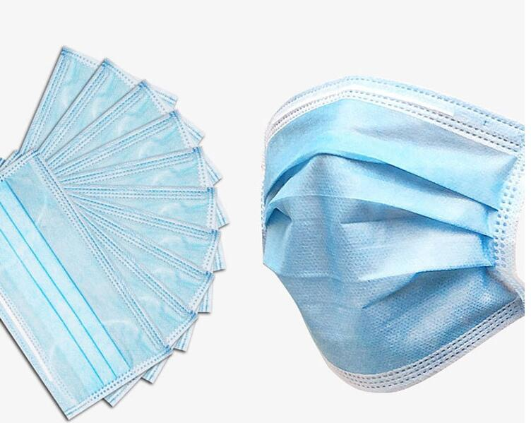Disposable Nonwoven Surgical Face Mask With Ear Loop