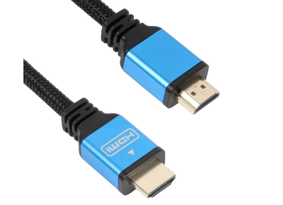 Wholesale Male to Male Gold Plated High Speed HDMI Cable OEM Support 3D 4K and 2160P 1080P 1M 1.5M 2M 3M 5M 10M 15M 20M
