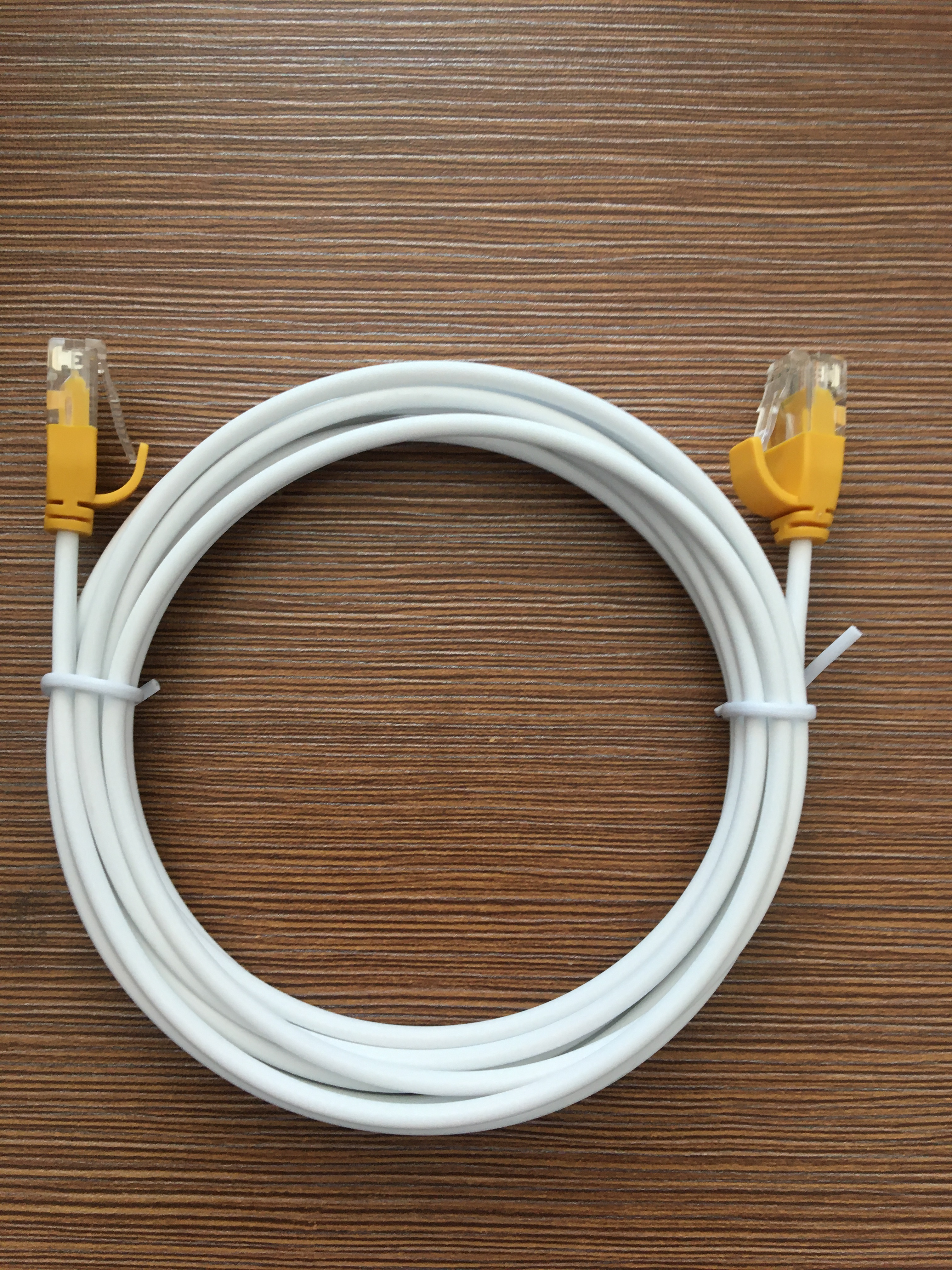 High Performance UTP Cat6 24 AWG Slim Flat Copper Patch Cord