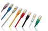 Factory Price Shielded Ethernet Cable 28awg SSTP Cat6a Patch Cord